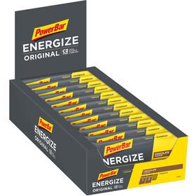 PowerBar Energize Original Riegel Box Chocolate 25 x 55g